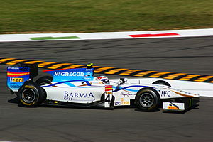 Addax Team - Giedo van der Garde driving for Addax at the Monza round of the 2011 season.