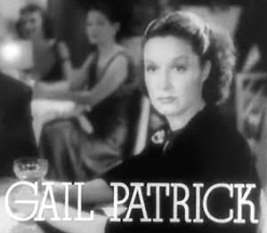 Screenshot of Gail Patrick from the trailer fo...