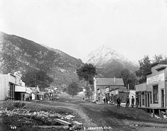 Crestone, Colorado - Galena Avenue June 1901