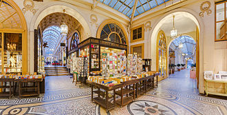 Galerie Vivienne - An interior view of the Galerie Vivienne