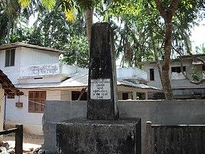 Kappad - Image: Gama memorial