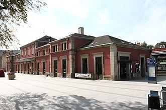 Gare de Saverne - Travellers building and entrance of the station