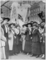 Garment workers parading on May Day, New York.png