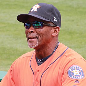 Gary Pettis as Houston Astros coach in May 2017.jpg