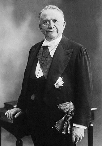 Gaston Doumergue - Doumergue in 1924, as the Grand Master of the Legion of Honour