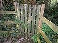 Gate at Village Hall, Llanteg - geograph.org.uk - 1043471.jpg