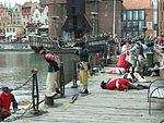 Gdańsk Ołowianka – inscenizacja czerwiec 2013 (2).JPG