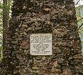 Gedenkpaneel. Locatie, Kerk van San Rocco met daaromheen de militaire begraafplaats in Peio Paese 01.jpg