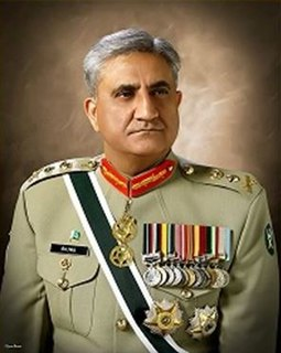 Qamar Javed Bajwa 16th Chief of Army Staff of the Pakistan Army