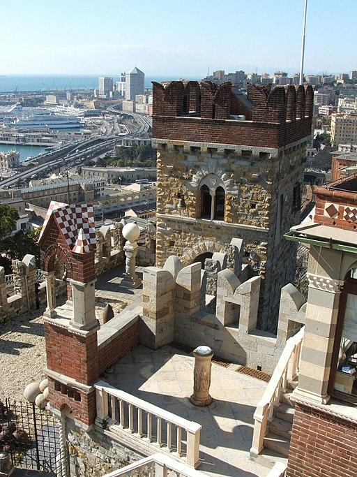 Genova-Panorama dal Castello d'Albertis-DSCF5509