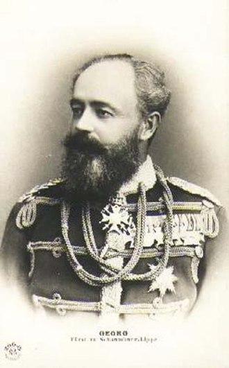 Georg, Prince of Schaumburg-Lippe - Image: Georg (Schaumburg Lippe)