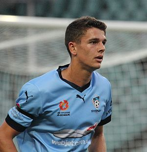 George Blackwood - Blackwood playing for Sydney FC in 2016