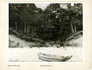 George Bradford Brainerd (American, 1845-1887). Camp Fire, Oyster Bay, Long Island, ca. 1872-1887