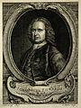 George Edwards. Line engraving by J. S. Miller, 1754, after Wellcome V0001738.jpg