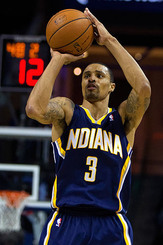 George Hill (basketball) - Hill with the Pacers in March 2014
