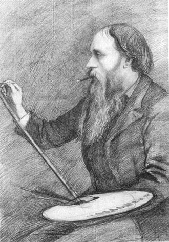 George Howard, 9th Earl of Carlisle - Edward Burne-Jones as drawn by Lord Carlisle