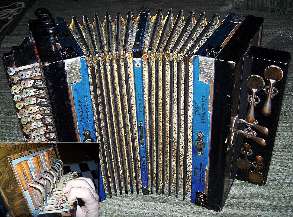German button accordion