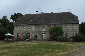 Gerswalde - Manor in Friedenfelde