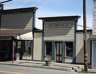 Geyserville, California Place in California, United States