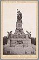 Gezicht op het Niederwalddenkmal Nationaldenkmal auf dem Niederwald (titel op object) Die Rheinlande (serietitel op object), RP-F-00-856.jpg