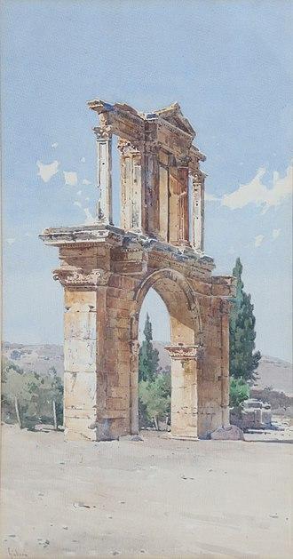 Angelos Giallinas - Image: Giallinas Angelos Hadrian's gate 1