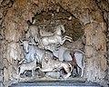 Giardino di castello, grotta degli animali o del diluvio, vasca centrale 02 animali di antonio lorenzi, francesco ferrucci del tadda e altri, 1555-57 ca.jpg