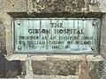 Gibson Hospital, St Andrews (Plaque).jpg