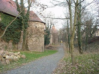 Flanking tower - Flanking towers of Giebichenstein Castle