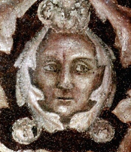 Giotto face restored