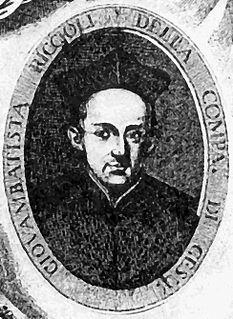 Giovanni Battista Riccioli 16th century Italian theologian and astronomer