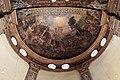 Girolamo mazzola bedoli, adorazione dei pastori e figure allegoriche femminili, 1553-57, 01.jpg