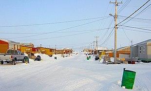 Main street of Gjoa Haven