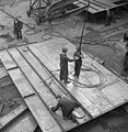 Glasgow Shipyard- Shipbuilding in Wartime, Glasgow, Lanarkshire, Scotland, UK, 1944 D20823.jpg
