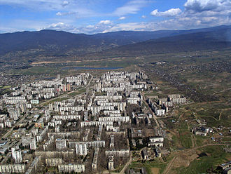 Microdistrict - One of the typical Tbilisi, Georgia microdistricts