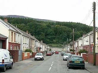 Glynneath - Godfrey Avenue in Glynneath