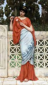 Godward-He Loves Me, He Loves Me Not-1896.jpg