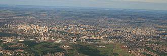 Goiânia - Panorama of Goiânia.