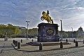 Goldener Reiter Dresden Neustadt gen Ost.jpg