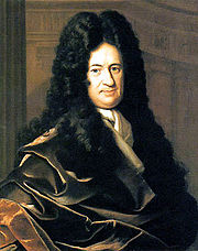 Portrait of Gottfried Wilhelm Leibniz by Bernhard Christoph Francke (circa 1700)
