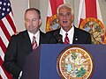 Governor Charlie Crist appointing his former chief of staff George LeMieux to the U.S. Senate.jpg