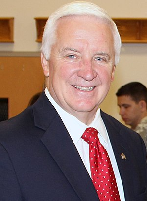 Tom Corbett - Image: Governor Corbett cropped portrait May 2014