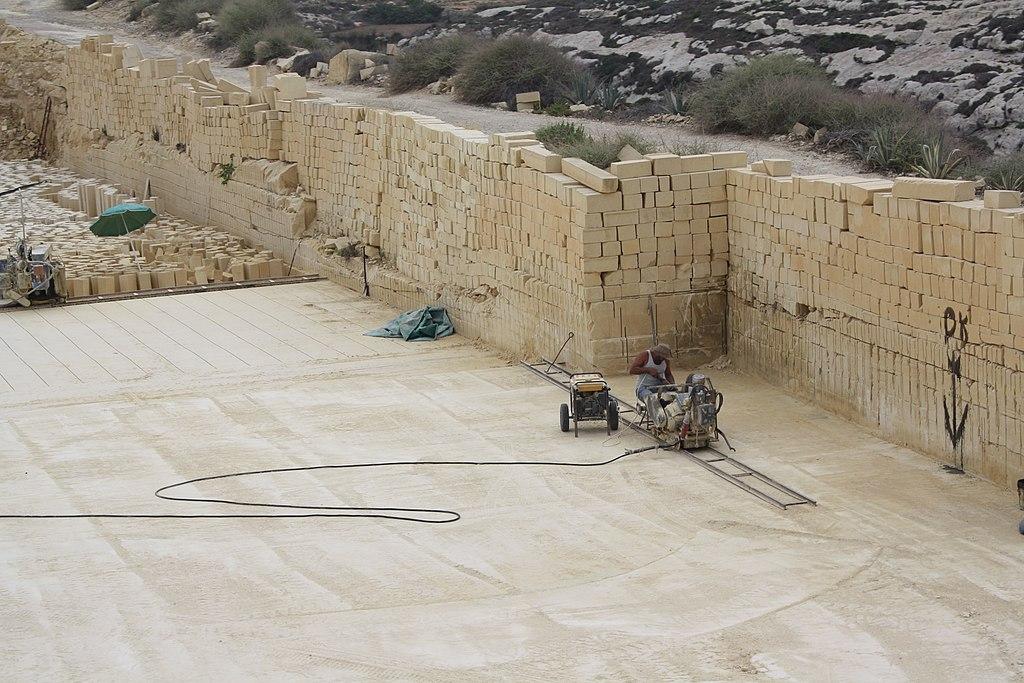 Limestone Building Blocks