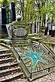 Grób Ludwika Zamenhofa na cmentarzu żydowskim w Warszawie 2017.jpg