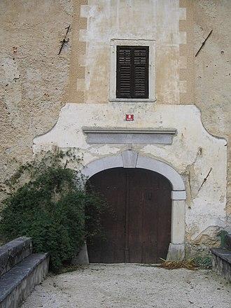 Gracar Turn - Image: Gracarjev turm vhod