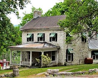 Tazewell, Tennessee - The Graham-Kivett House, built c. 1810