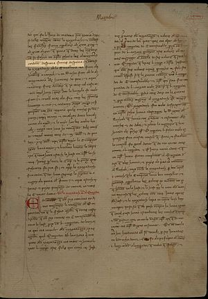 Awake iron! - Desperta Ferres! Desperta! Batalla de Kibistra (1304) Crònica de Ramon Muntaner (Còdex del 1342)