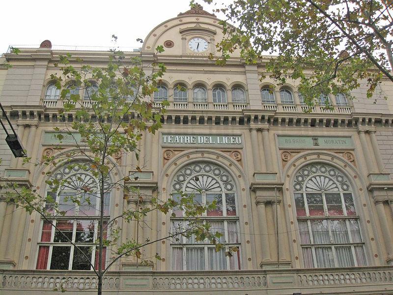 File:Gran Teatre del Liceu, detall de la façana.jpg