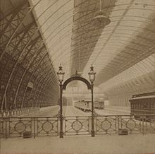 Inside The Train Shed Of Grand Central Depot