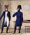 Grande Armée - Line Infantry - Officers in Overcoats.jpg