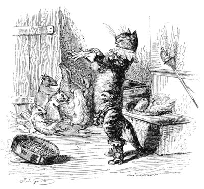 Grosses bottes et la chatte